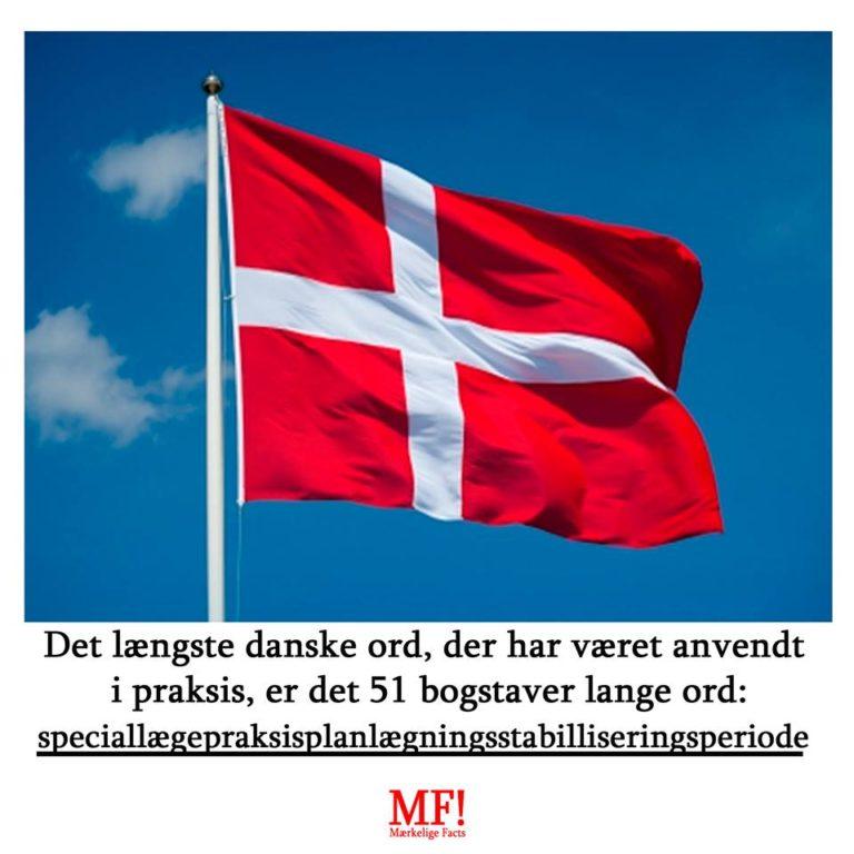 længste danske ord