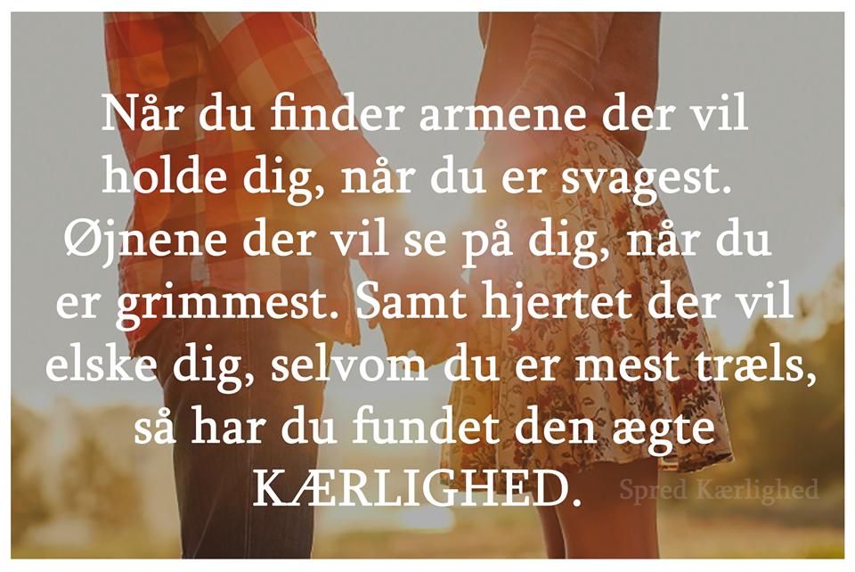 Ægte kærlighed. - DAGENSDELER.DK