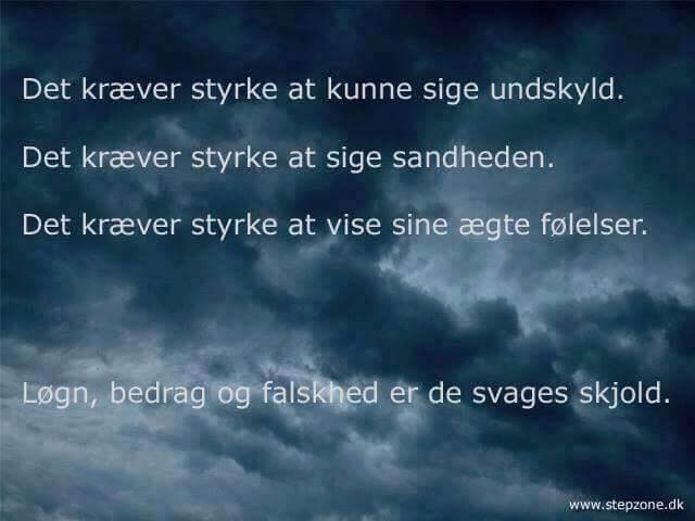 citater om falskhed De svages skjold   DAGENSDELER.DK citater om falskhed