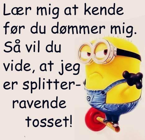 sjove sætninger på dansk