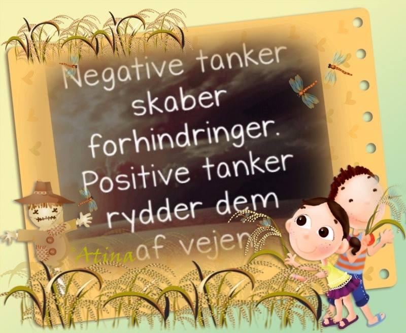 citater om positive tanker Send positive tanker   DAGENSDELER.DK citater om positive tanker