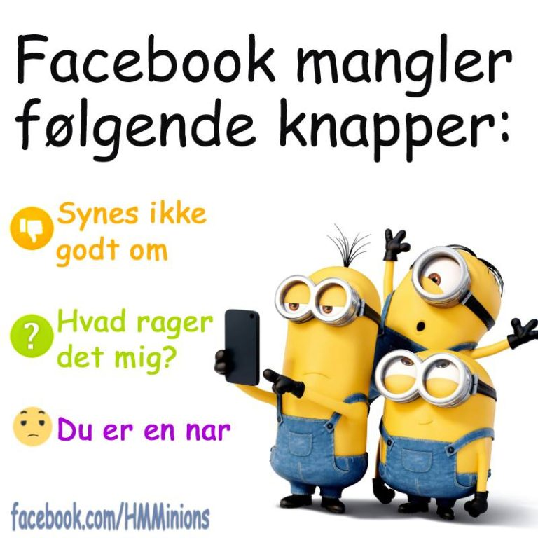 sjove facebook citater Minion Citat 104   DAGENSDELER.DK sjove facebook citater