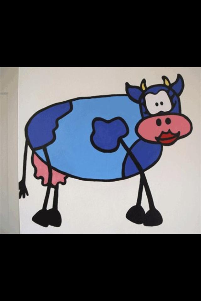den blå ko