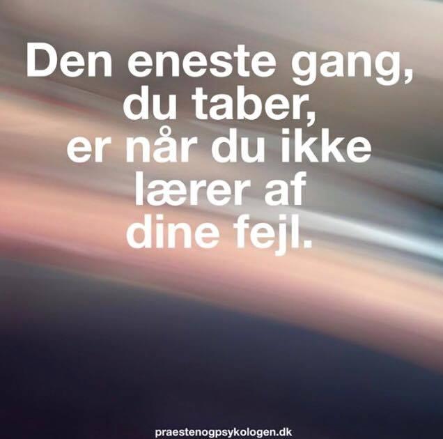 Når du ikke lære af dine fejl - DAGENSDELER.DK