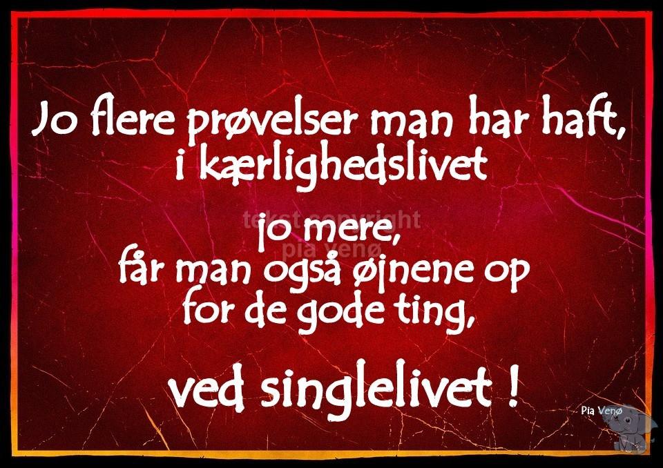 citater om singlelivet Singlelivet   DAGENSDELER.DK citater om singlelivet